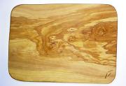 オリーブの木のまな板、オリーブウッドカッティングボード 長方形中サイズ PLC_27