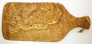 オリーブの木のまな板、オリーブウッドカッティングボード Bモデル PLC_B19