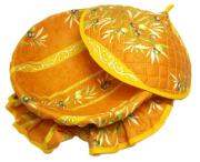 フタ付きブレッドバスケット、パンかご(オリーブ2005・テラコッタオレンジ) PAN_C26