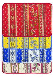 プロヴァンスキルティングランチョンマット:ランチマット:プレイスマット:テーブルマット(Marat d'Avignon アヴィニョン 全4色)PM_MR_201701【フランス】