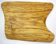オリーブの木のまな板、オリーブウッドカッティングボード 長方形中サイズ PLC_31
