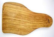 オリーブの木のまな板、オリーブウッドカッティングボード 長方形中サイズ PLC_32