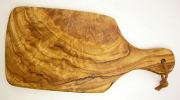 オリーブの木のまな板、オリーブウッドカッティングボード AモデルPLC_A52