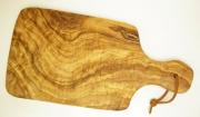 オリーブの木のまな板、オリーブウッドカッティングボードAモデルPLC_A66