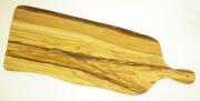 オリーブの木のまな板、オリーブウッドカッティングボードアンティパスト用まな板ロング 50cm PLC_ATP_G3