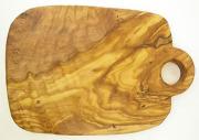 オリーブの木のまな板、オリーブウッドカッティングボードCモデル PLC_C72