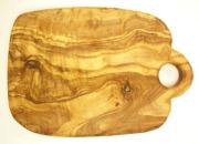 オリーブの木のまな板、オリーブウッドカッティングボードCモデル PLC_C84