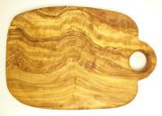 オリーブの木のまな板、オリーブウッドカッティングボードCモデル PLC_C85