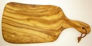 オリーブの木のまな板、オリーブウッドカッティングボードEモデル PLC_E22