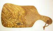 オリーブの木のまな板、オリーブウッドカッティングボードEモデル PLC_E25