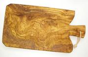 オリーブの木のまな板、オリーブウッドカッティングボード Fモデル PLC_F01
