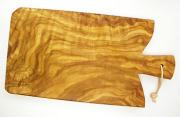 オリーブの木のまな板、オリーブウッドカッティングボード Fモデル PLC_F02