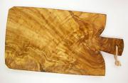 オリーブの木のまな板、オリーブウッドカッティングボード Fモデル PLC_F05