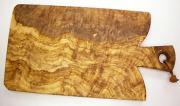 オリーブの木のまな板、オリーブウッドカッティングボード Fモデル PLC_F06
