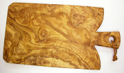 オリーブの木のまな板、オリーブウッドカッティングボード Fモデル PLC_F07