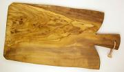 オリーブの木のまな板、オリーブウッドカッティングボード Fモデル大サイズ PLC_FG02