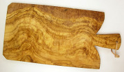 オリーブの木のまな板、オリーブウッドカッティングボード Fモデル大サイズ PLC_FG03