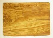 オリーブの木のまな板、オリーブウッドカッティングボード長方形大サイズ PLC_G3_125