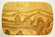 オリーブの木のまな板、オリーブウッドカッティングボード レクト小サイズ PLC_RECT02
