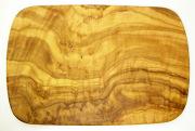 オリーブの木のまな板、オリーブウッドカッティングボード レクト小サイズ PLC_RECT08