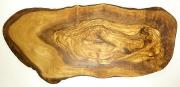オリーブの木のまな板、オリーブウッドカッティングボード RUSTIQUE変形 PLC_RSTQG22