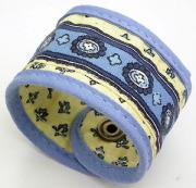 ナプキンリング(ルールマラン・ホワイト×ブルー)RD_SRV01