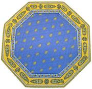 8角形オクトゴナルフレームテーブルマット38×38cmサイズ(Marat d'Avignon バスティード・ラベンダーブルー)【フランス】TP_OCT08::他サイズお取り寄せ可能