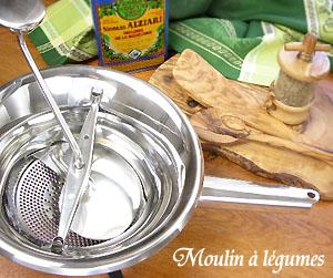 ムーラン・ア・レギューム(野菜用ミル、粉砕、挽砕器)Moulin a legumes