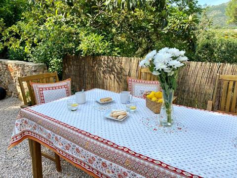テーブルクロス:マルチカバージャガード織り(MAZAN マザン 花柄・全2色)全3サイズ【フランス】NAP_C87
