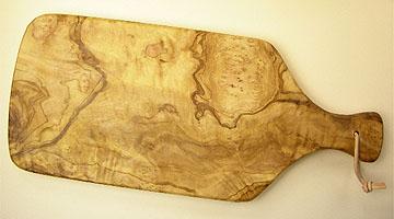 オリーブの木のまな板、オリーブウッドカッティングボード Bモデル PLC_B02