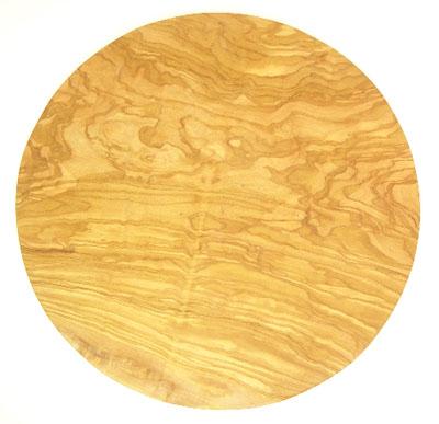オリーブの木のピザプレート直径30cmサイズ【フランス】オリーブウッド木製 PIZ_19