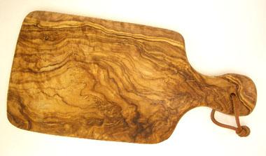 オリーブの木のまな板、オリーブウッドカッティングボードAモデルPLC_A62