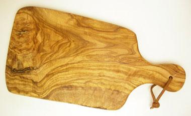 オリーブの木のまな板、オリーブウッドカッティングボードAモデルPLC_A65