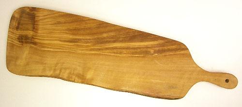 オリーブの木のまな板、オリーブウッドカッティングボードアンティパスト用まな板PLC_ATP_1