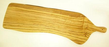 オリーブの木のまな板、オリーブウッドカッティングボードアンティパスト用まな板ロング 60cm PLC_ATP_G4