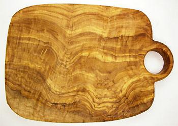 オリーブの木のまな板、オリーブウッドカッティングボード Cモデル PLC_C51