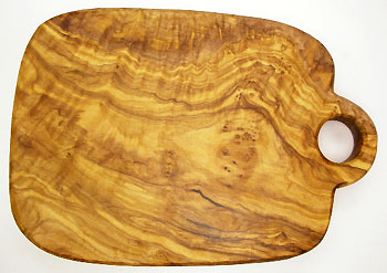 オリーブの木のまな板、オリーブウッドカッティングボード Cモデル PLC_C52