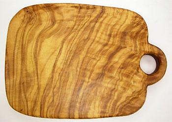 オリーブの木のまな板、オリーブウッドカッティングボード Cモデル PLC_C53