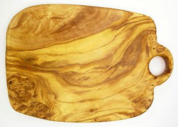 オリーブの木のまな板、オリーブウッドカッティングボード Cモデル PLC_C65