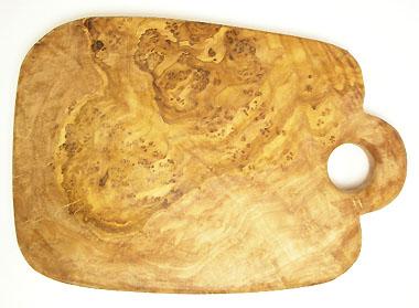 オリーブの木のまな板、オリーブウッドカッティングボードCモデル PLC_C78