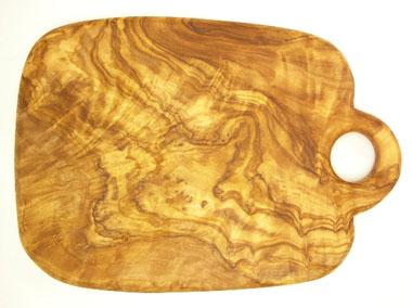 オリーブの木のまな板、オリーブウッドカッティングボードCモデル PLC_C81
