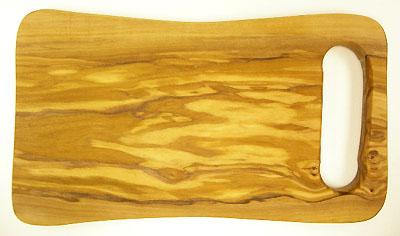 オリーブの木のまな板、オリーブウッドカッティングボード デッラノンナ PLC_DN01