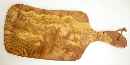 オリーブの木のまな板、オリーブウッドカッティングボード Eモデル大サイズ PLC_EG22