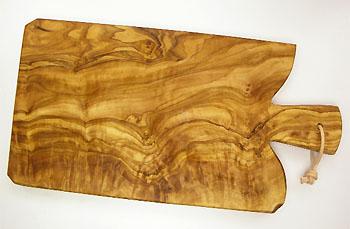 オリーブの木のまな板、オリーブウッドカッティングボード Fモデル PLC_F04