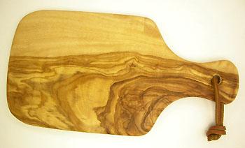 オリーブの木のまな板、オリーブウッドカッティングボードミニサイズ PLC_MINI03