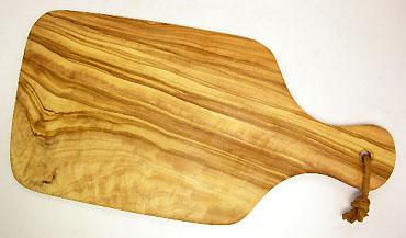 オリーブの木のまな板、オリーブウッドカッティングボード 小サイズ PLC_P140
