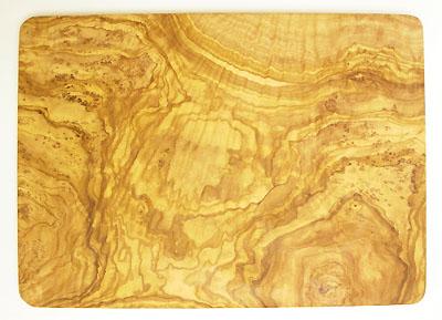 オリーブの木のまな板、オリーブウッドカッティングボード長方形大サイズ PLC_G3_100