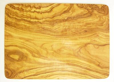 オリーブの木のまな板、オリーブウッドカッティングボード長方形大サイズ PLC_G3_102