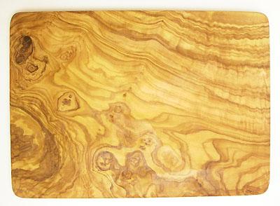 オリーブの木のまな板、オリーブウッドカッティングボード長方形大サイズ PLC_G3_103