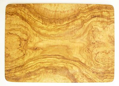 オリーブの木のまな板、オリーブウッドカッティングボード長方形大サイズ PLC_G3_104